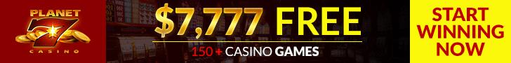 Planet 7 Casino Banner